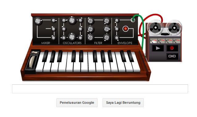 Bob Moog Sang Pelopor Musik Elektronik Pada Logo Google