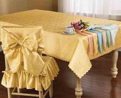 Muebles y decoraci n de interiores los manteles para la - Tipos de manteles ...