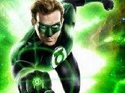 Green Lantern Flying