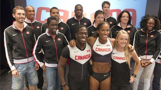 Canada uniform for london olympic