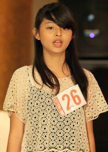 JKT48 auditon , Jeje number 26