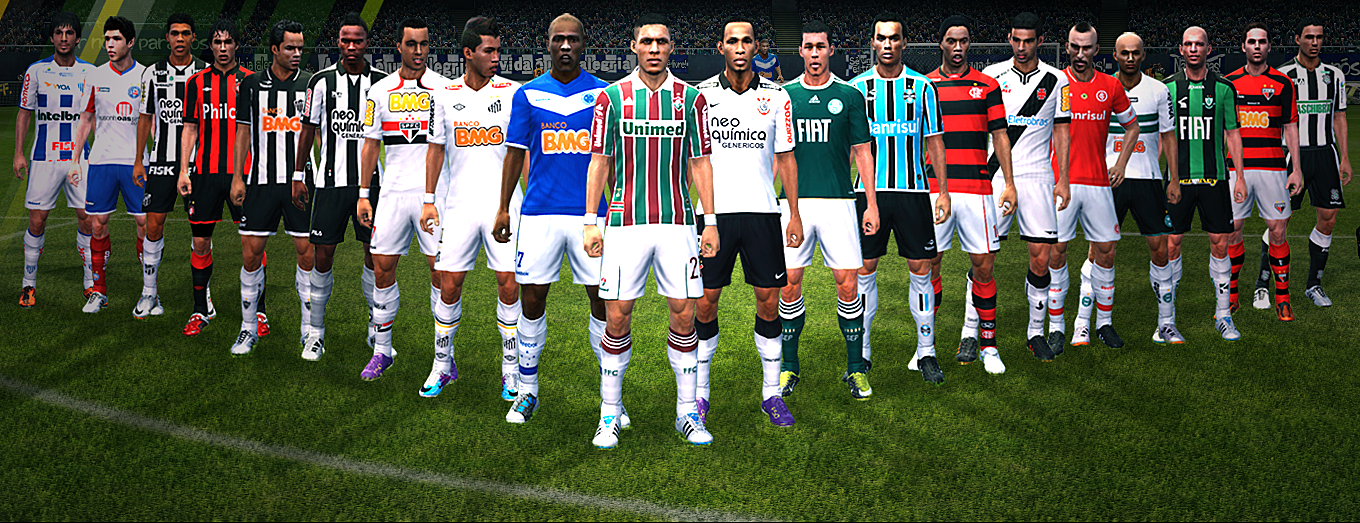 Download Patch Times Brasileiros Pes 2011 Pc