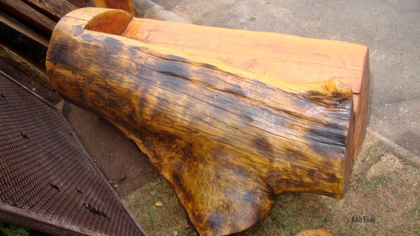 de tronco de madeira reciclada bancos rústicos de madeira reciclada #B04B18 1600x899