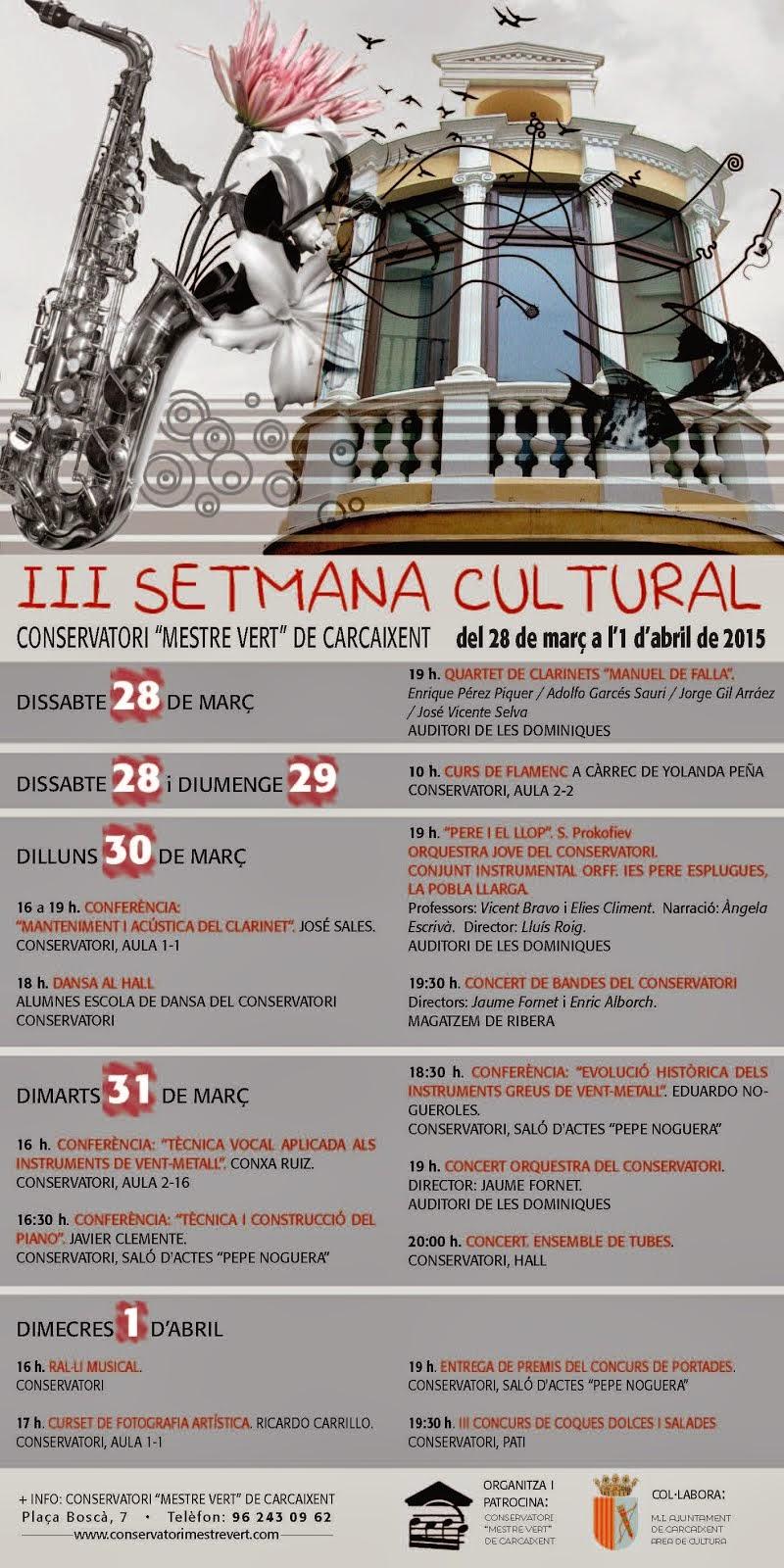 III Setmana Cultural