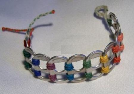 Ideas para tener pulseras recicladas for Ideas recicladas