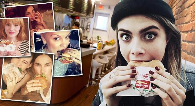 Cara Delevingne, Emma Roberts, Selena Gomez et Sofía Vergara on mis leur bottes et sont partie mangé des hamburger