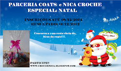 Parceria Coats e Nica Croch