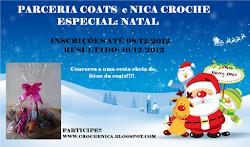 Parceria Coats e Nica Crochê