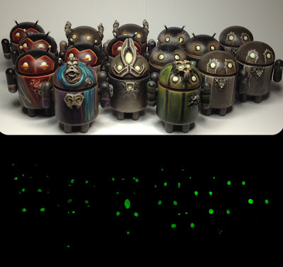 "Dragatomi x Valleydweller ""Thirty-Nine Eyes Blind"" Custom Android Series"