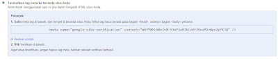 verivikasi google webmaster tool