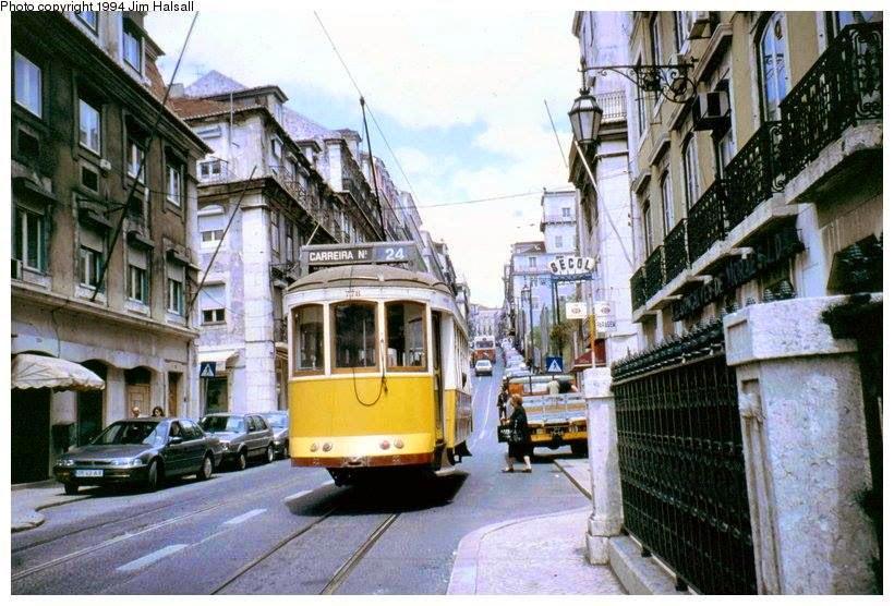 Petição pela reactivação do Eléctrico 24, em Lisboa.