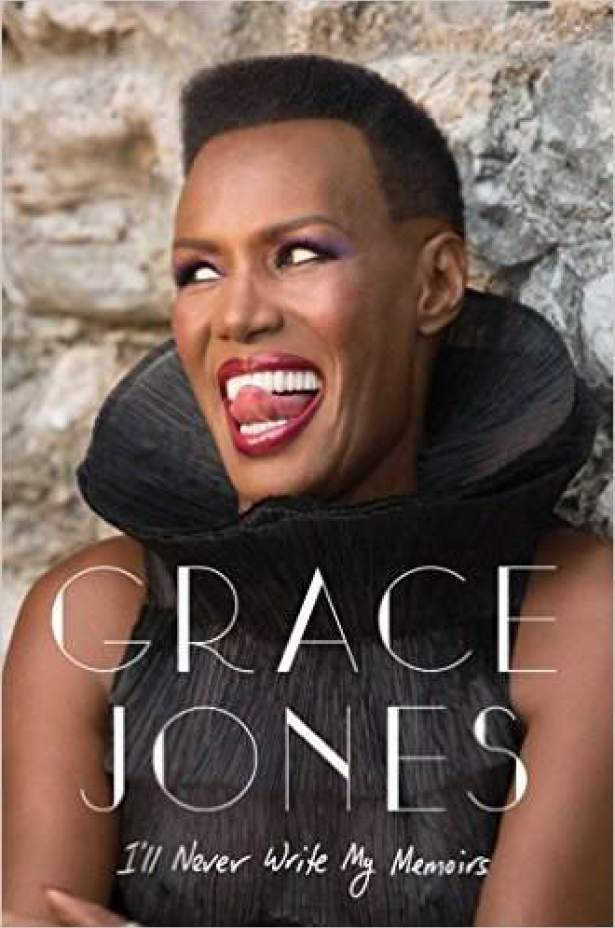 GRACE JONES WRITES MEMOIRS