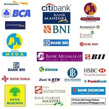 Kode Bank BCA BNI BRI BII CIMB Mandiri Dll