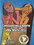 Aportes 3º Congreso Nacional y 1º del Mercosur contra la Trata Villa maria 2012