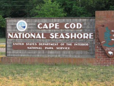 Cape Cod National Seashore Entrance
