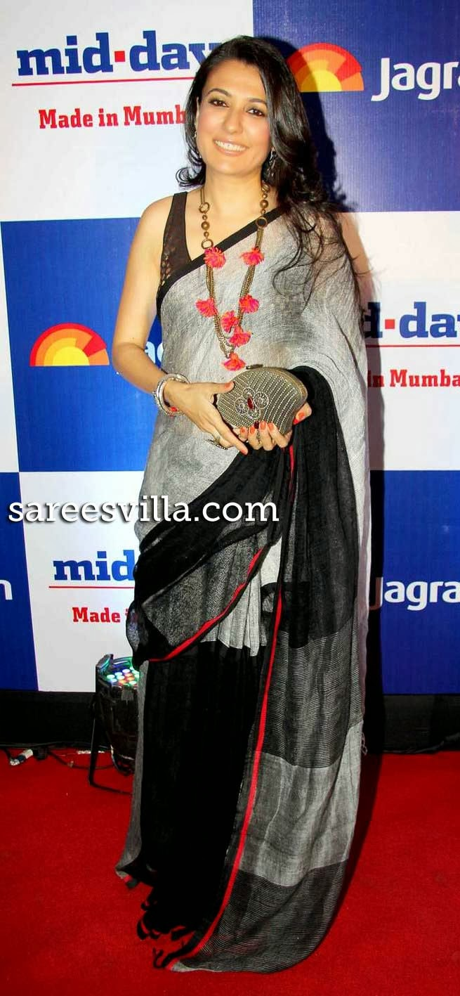 Mini Mathur at Mid Day Newspaper's Relaunch Party