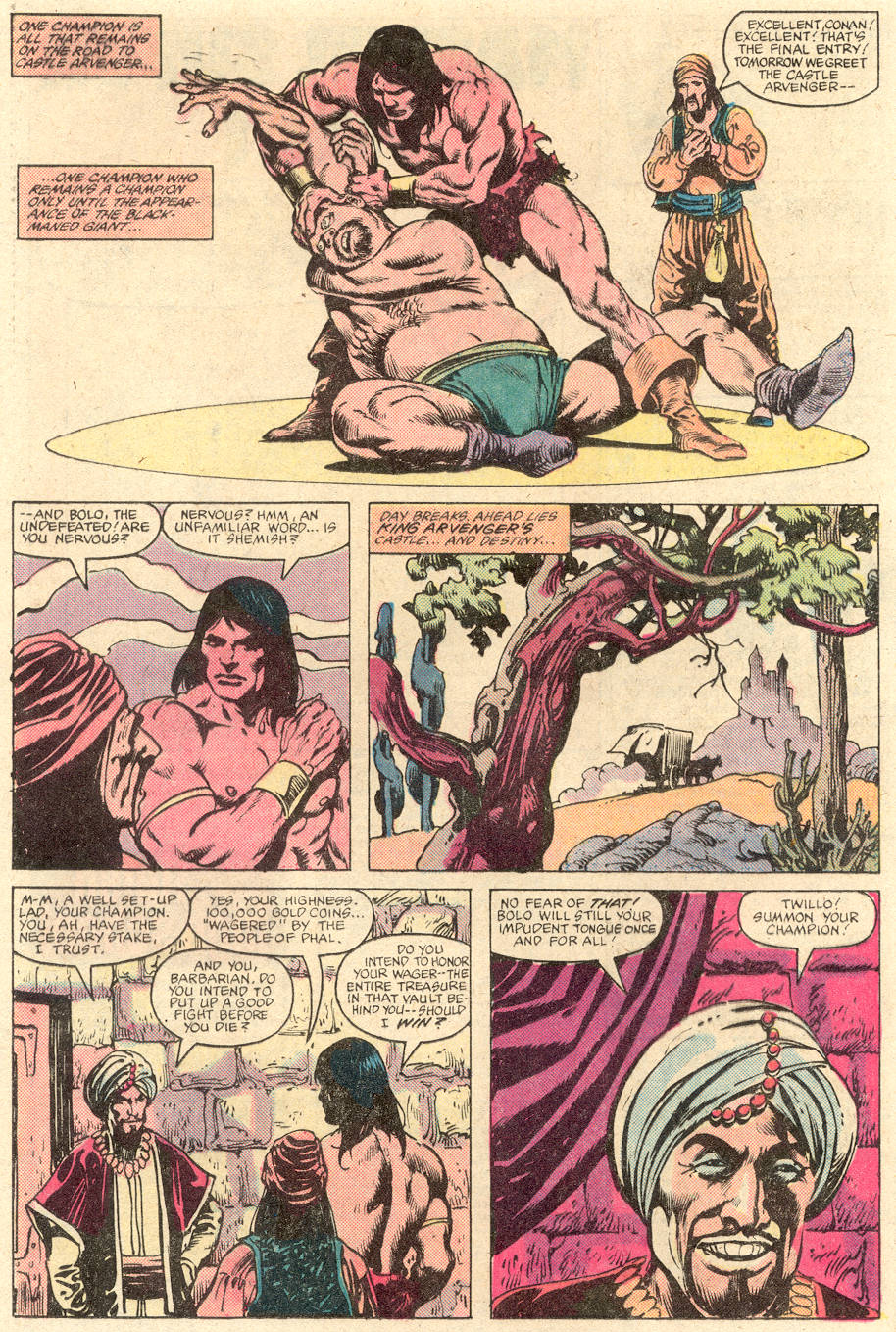 Conan the Barbarian (1970) Issue #137 #149 - English 17