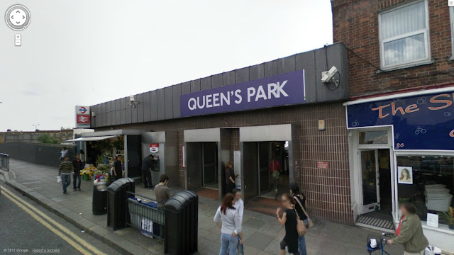 Queen's Park station on the Bakerloo line of the London Underground