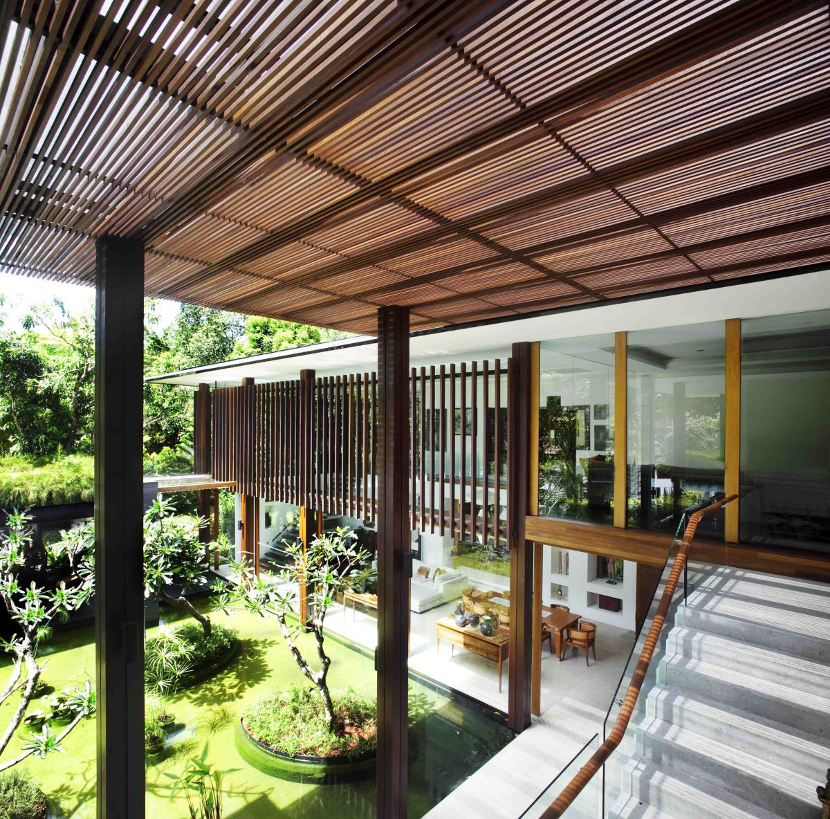 The Sun House By Guz Architects A Hevean Of Green In