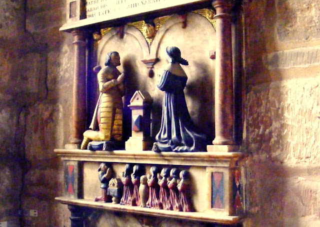 Tomb memorial in Brewood Church
