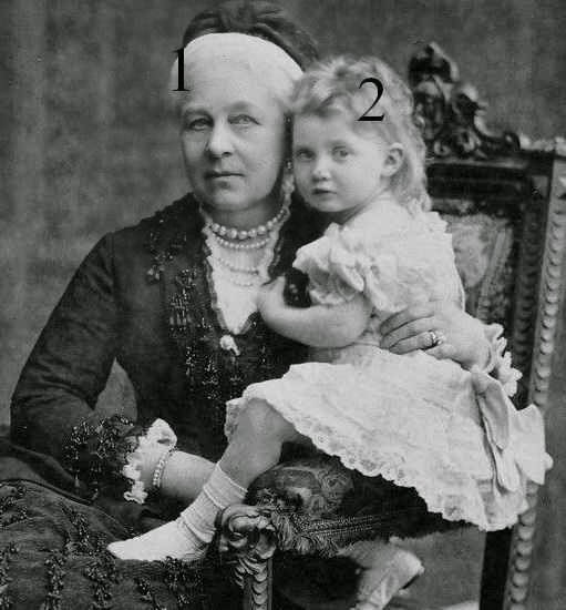 Marie, reine de Hanovre et Marie Luise de Hanovre