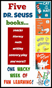 Dr Seuss Week- Five books, lots of activities for each!