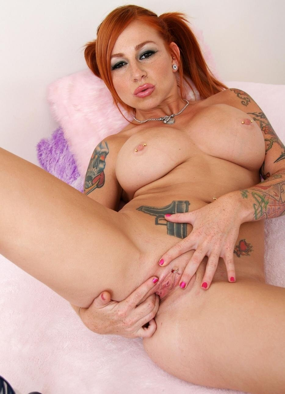 drunk red head naked