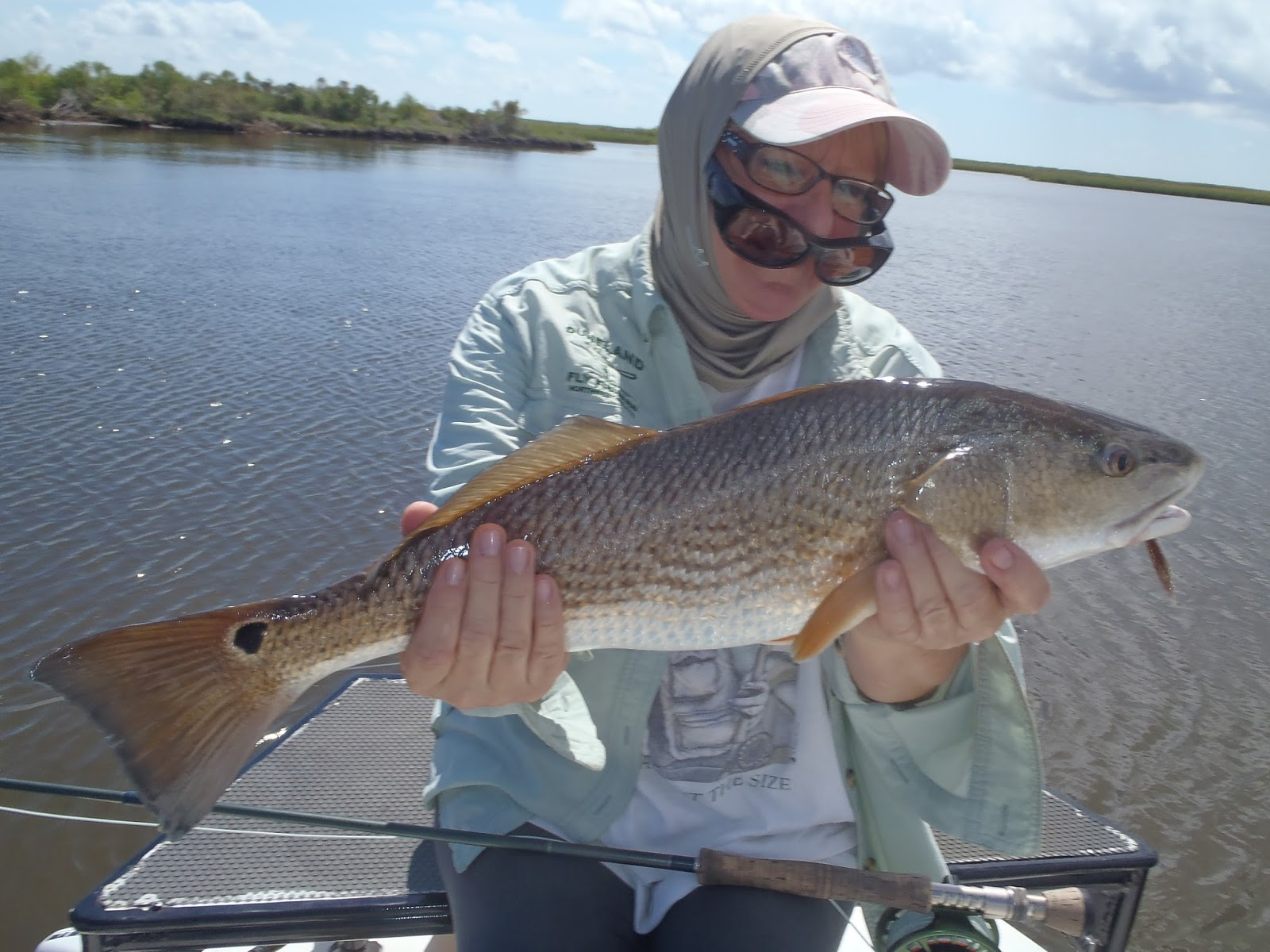 Redfishing louisiana a guides journey september 2015 for Fly fishing redfish