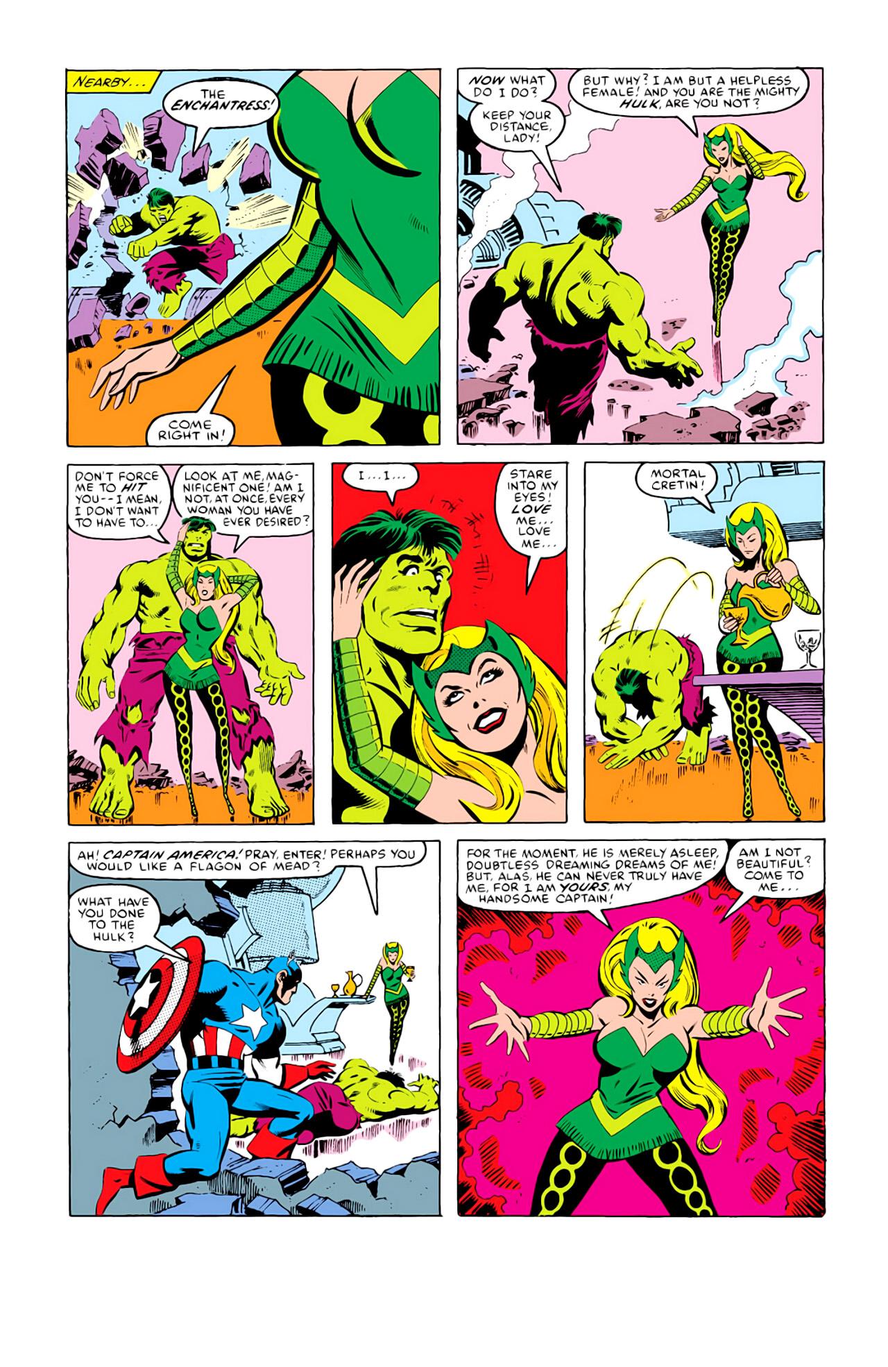 Captain America (1968) Issue #292i #216 - English 10