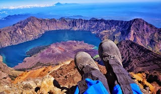 it's Rinjani