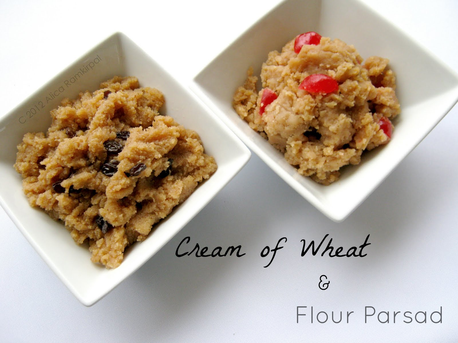Parsad two ways cream of wheat and flour alicas pepperpot the parsad duo forumfinder Choice Image