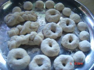 Part 2 - Donut Pelbagai Bentuk plak dah