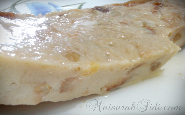 Resepi | Puding Roti Karamel Sedap dan Mudah