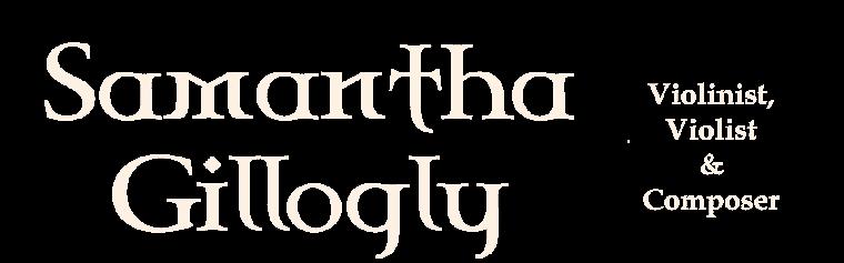 Official Website of Samantha Gillogly
