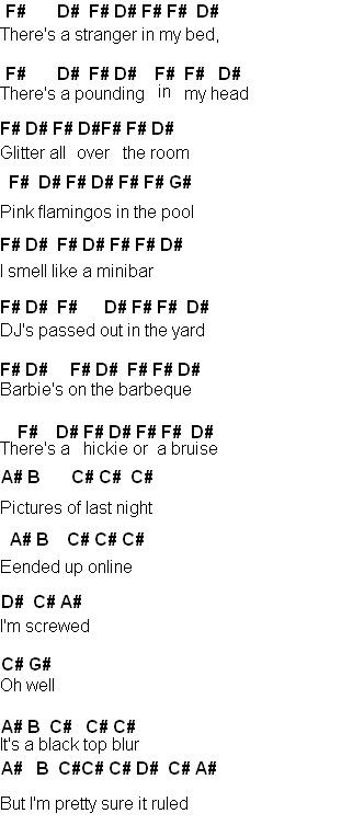 Flute Sheet Music Last Friday Night