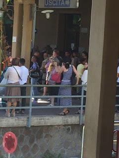 Roma-Lido: Attesa a Porta San Paolo