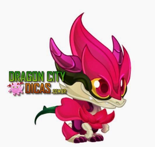 Dragão Rosa Vermelha