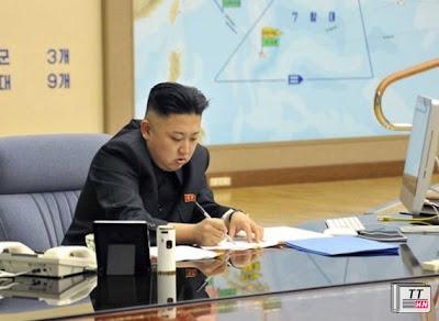 Nhà lãnh đạo Bắc Triều Tiên Kim Jong-un
