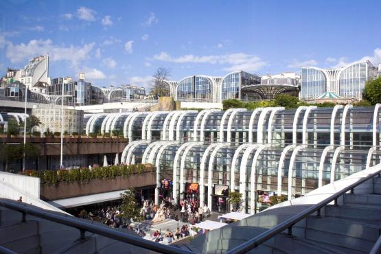 7 giorni a parigi forum des halles for Piscine des halles