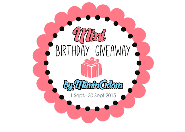 Mini Birthday Giveaway by MiminAdam