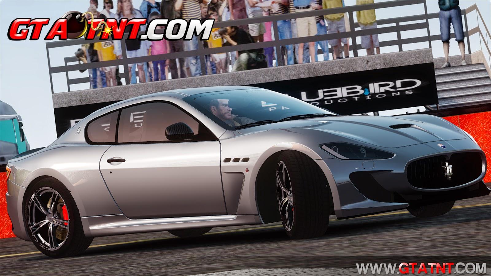 Maserati GranTurismo MC Stradale 2014 para GTA 4