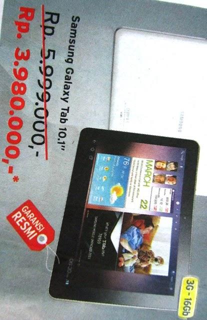 Harga Tablet Samsung Galaxy Tab 2 101 P5100 Lazada Indonesia Daftar