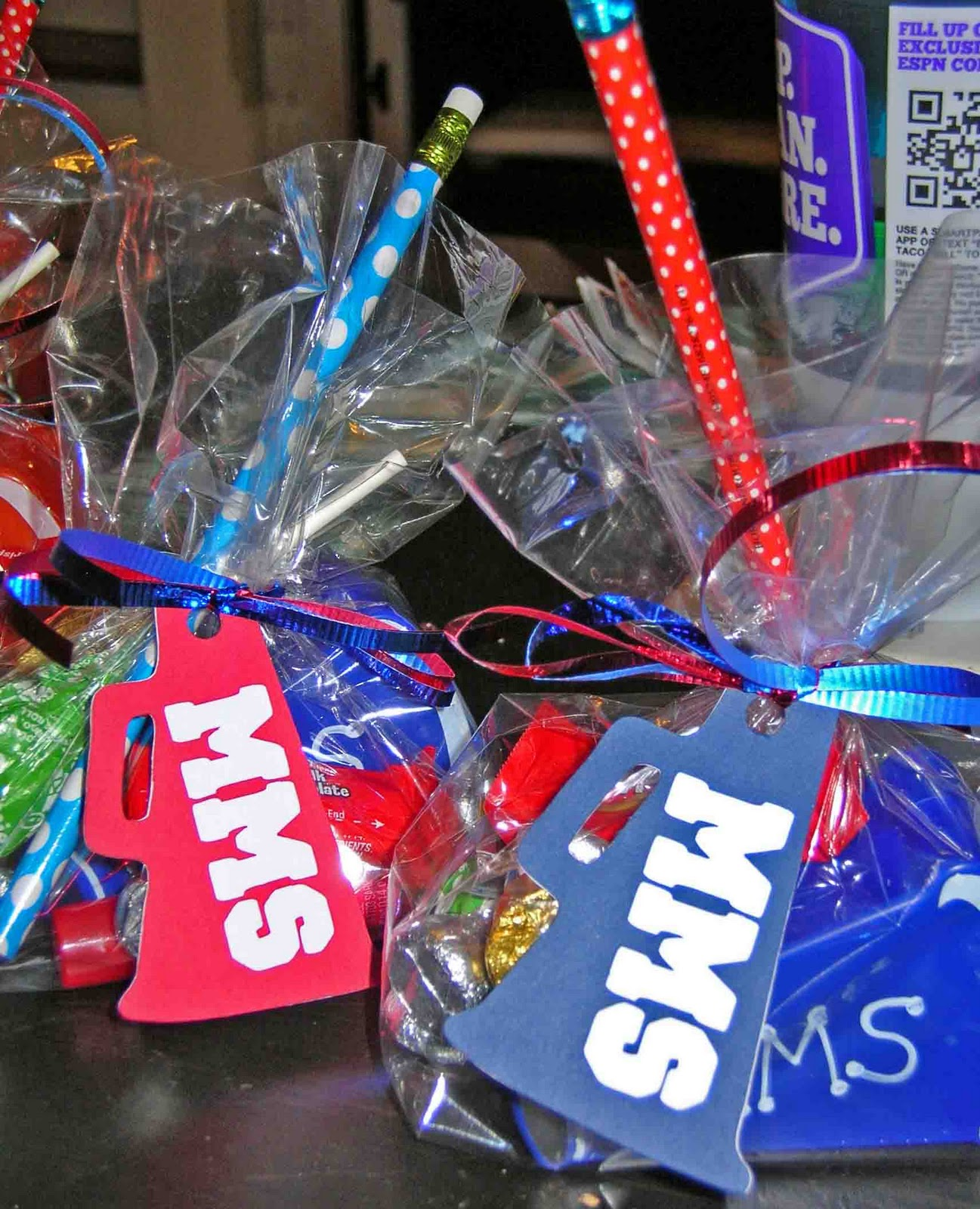 Cheer Gift Bags & Cool Beans by L.B.: Cheer Gift Bags