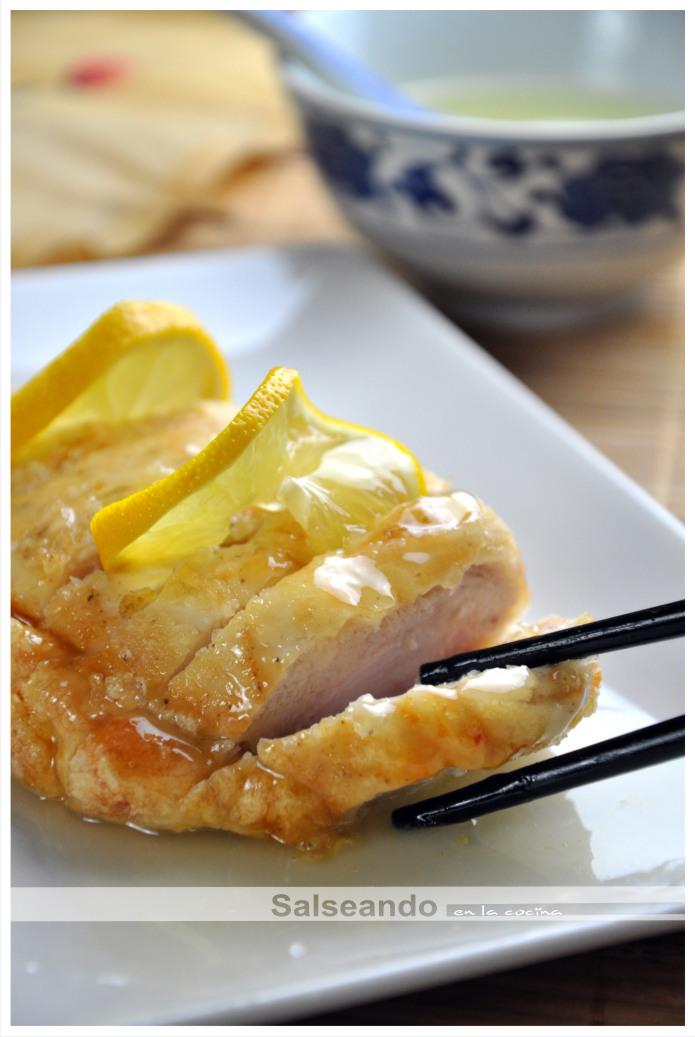 Salseando en la cocina pollo al lim n cocina china - Pollo al limon isasaweis ...