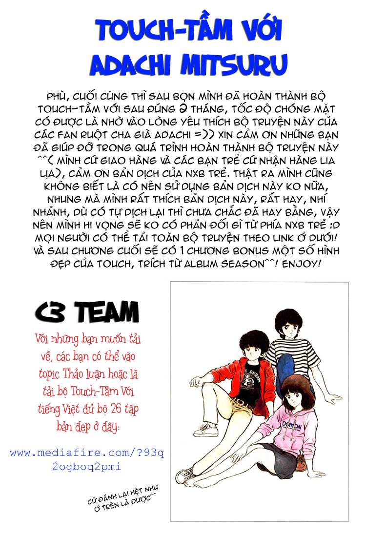 Touch chap 257 – End Trang 20 - Mangak.info