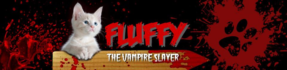 Fluffy The Vampire Slayer - Cats and Horror blog