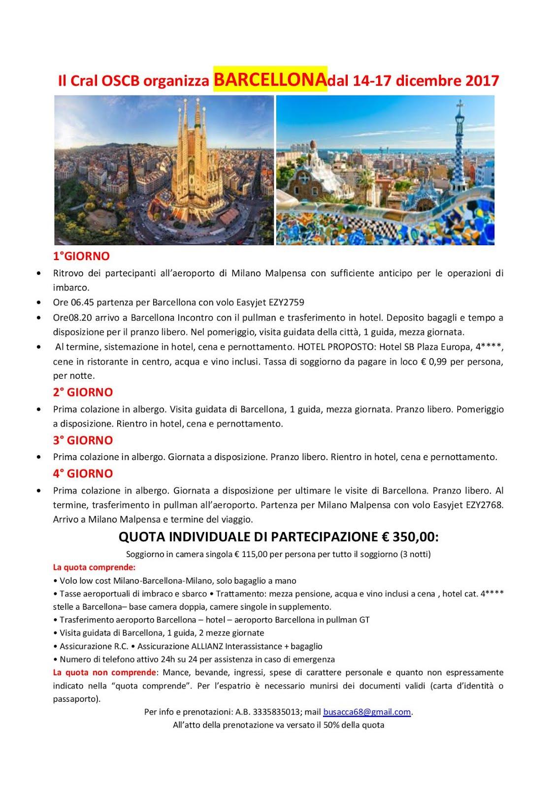 Best Tassa Di Soggiorno Barcellona Images - Design Trends 2017 ...