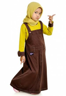 Baju Kodok Anak Muslimah
