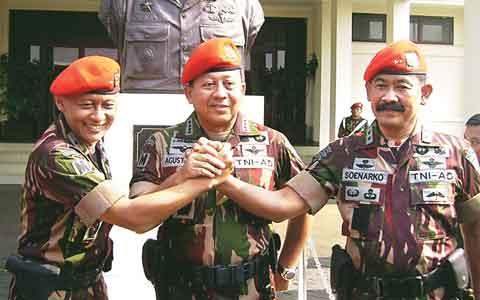 of komando pasukan khusus atau special force command adalah pasukan ...