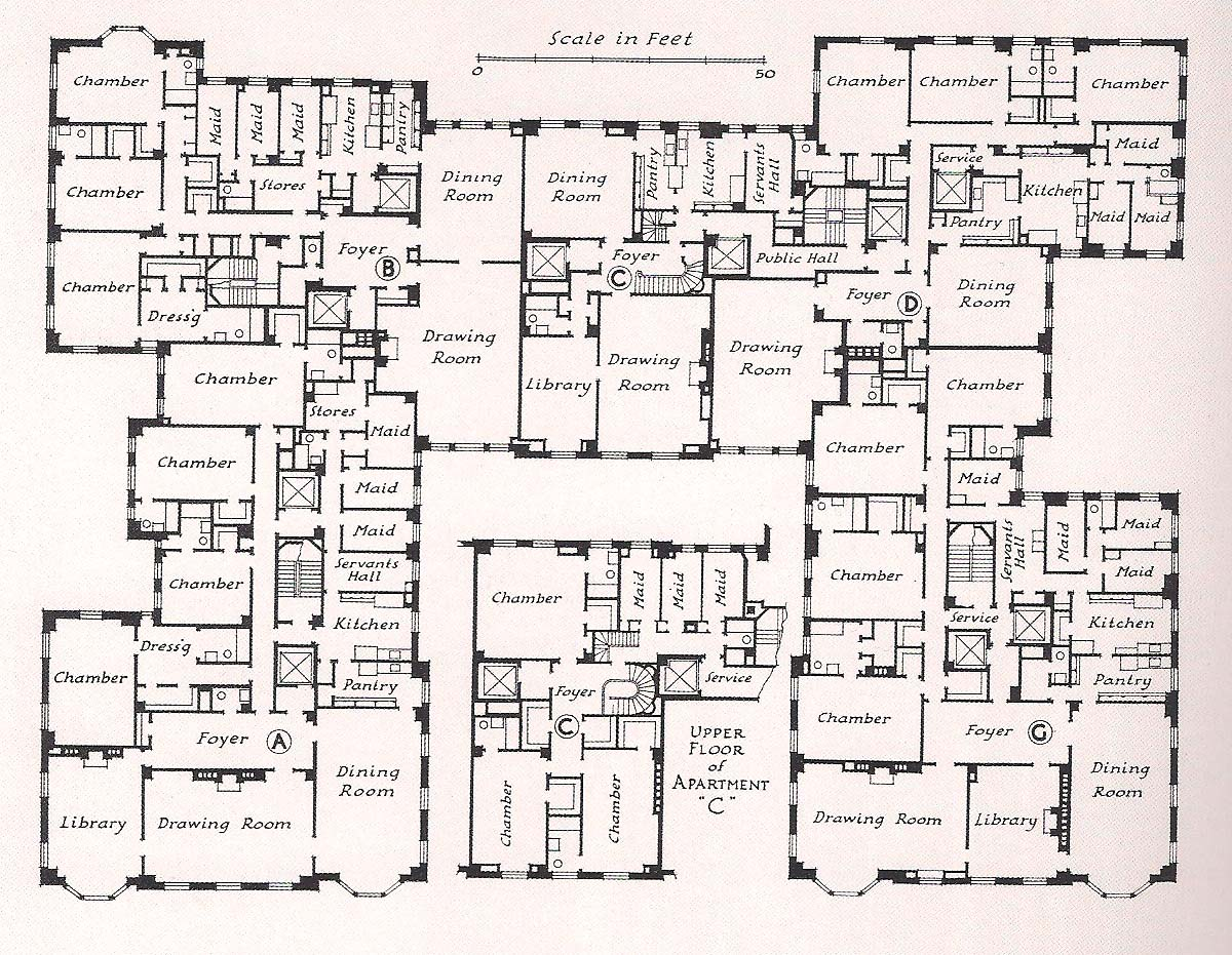 Mansion Floor Plan